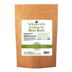 The Republic Of Tea Organic Pomegranate Green Tea 250 Tea Bags Superfruit Premium Green Tea Blend >>> You can get additional details at the image link. Peach Green Tea, Green Tea Bags, Ginger Peach, Organic Green Tea, Green Teas, Red Rooibos Tea, Oolong Tea, Turmeric Tea, Organic Turmeric