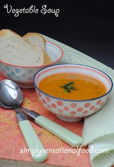 simply.food: Vegetable Soup -suitable for 5-2 diet