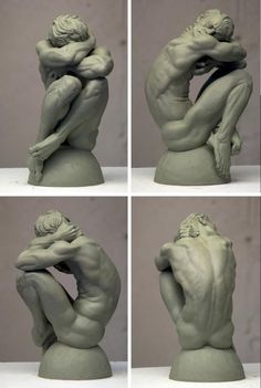 Sculpture by Eric Michael Wilson. Great piece of art and anatomy reference and inspiration. Man Anatomy, Anatomy Drawing, Anatomy Art, Human Sculpture, Sculpture Clay, Anatomy Reference, Drawing Reference, Figure Reference, Life Drawing