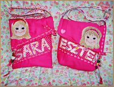 Shoulder bag for girls~ handmade by MelindaCrea