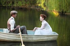 An Anne of Green Gables Inspired Wedding Shoot-if I could do anything with my wedding pictures, this would be it. We want to get married in our boat during the ceremony. Boat Engagement Photos, Engagement Session, Wedding Shoot, Dream Wedding, Hair Wedding, Wedding Photoshoot, Wedding Bells, Wedding Stuff, Wedding Day Checklist