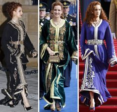 royalroaster: Lalla Salma in kaftans