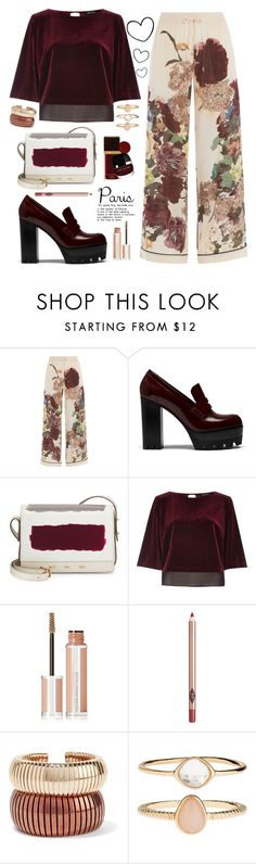 """Paris in the fall"" by meryfern ❤ liked on Polyvore featuring Valentino, Mulberry, VBH, River Island, Givenchy, Charlotte Tilbury, Rosantica, Accessorize, paris and polyvorecontest"