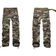 Cool Camo Used For Casual Cargo Pantswomen Cargo Pantscamoflague Cargo