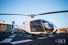 What better way to get to a dinner date in Seattle than a flight in Charlie Tango … with Christian as the pilot. | Fifty Shades of Grey | In Theaters Valentine's Day