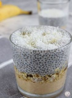 Sweets Recipes, Cake Recipes, Chia Puding, Easy Healthy Smoothie Recipes, Creative Food, Delicious Desserts, Good Food, Food And Drink, Favorite Recipes