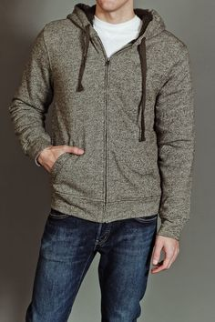 JackThreads - Vacancy Contact Fleece Zip Up Hooded Sweatshirt Heather Utility Green.the mr would be smokin in this! Zip Up Hoodies, Hooded Sweatshirts, Love My Boyfriend, Jack Threads, Mens Attire, Dressed To The Nines, Fine Men, I Dress, Passion For Fashion