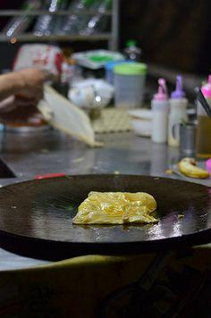 Crêpes - street food - Thailand Krabi, Premier Pools, Thai Street Food, Bar Set, Bangkok, Meet, Number, Sports, Desserts