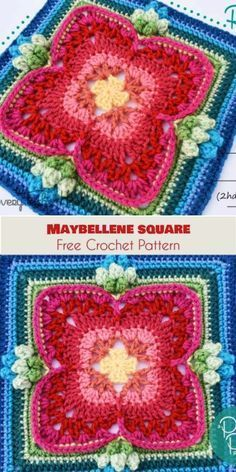 Maybellene Square [Free Crochet Pattern]