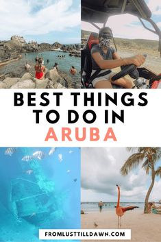 Wondering what to do in Aruba? Here were my favorite activities in Aruba that you can't miss. Get these Aruba travel tips today. Barbados, Aruba Jamaica, Aruba Activities, Travel Guides, Travel Tips, Travel Advise, Travel Plan, Travel Articles, Travel Goals
