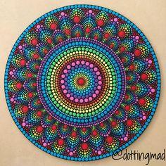 Mandala Art, Mandala Design, Mandalas Painting, Mandalas Drawing, Mandala Pattern, Mandala Painted Rocks, Mandala Rocks, Dot Art Painting, Stone Painting