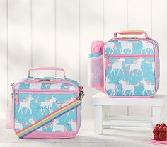 Details about 2 in 1 Mochila Unicornio Y Lonchera Escolar Niña Unicorn School Bag Impermeable