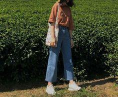 Asian Street Style, Korean Street Fashion, Korea Fashion, 70s Fashion, Asian Fashion, Tokyo Fashion, Street Styles, Winter Fashion, Cute Casual Outfits
