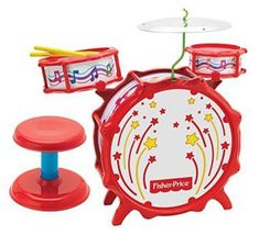 Fisher-Price Big Bang Drum Set with Lights - kids musical toy - (Sale Savings) Fisher Price, Musical Instruments For Toddlers, Kids Drum Set, Drum Sets, Best Drums, Sparkling Lights, Big Bang, Musical Toys, Dogs And Kids