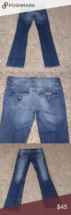 Hudson Denim Jeans Hudson denim jeans. They are in excellent condition. Size 30. Inseam 34. Hudson Jeans Jeans Boot Cut