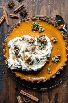 The Ultimate Healthy Pumpkin Pie - The Chriselle Factor