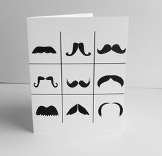 Mustaches.