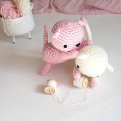 Chatons espiègles @laboutiquedemelimelo (Little Bear Crochet pattern)