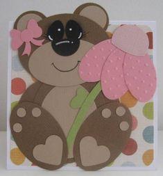 Punch art teddy (Girl)