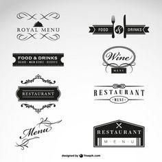 レストランのベクトル無料のコレクション