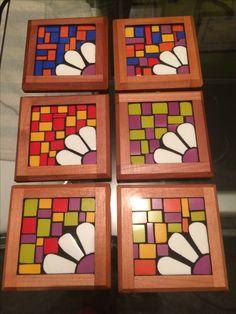 Set posavasos @lau.mosaic.art
