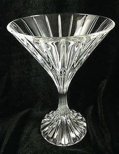 Mikasa Park Lane Glasses Clear Crystal Martini