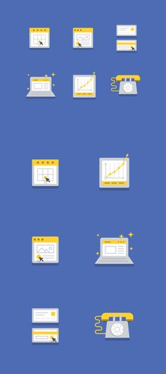 Dribbble - LightBound_Icon_Set.png by Jon McClure