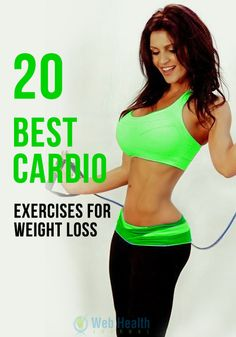 20 Best #Cardio Exercises For Weight Loss : October has fallen upon us and that means, the Holiday's are creeping as well. And it's normal to put on pounds during the Holidays.