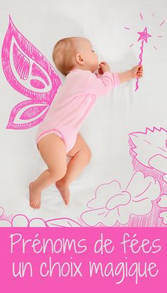 Un prénom de fée ? Une idée magique pour bébé. Il y a Morgane ou Mélusine, bien sûr, mais avez-vous pensé à Aveline, Ciela, Alvina, Noa…#prenoms #prénom  #prenomgarçon #prenombebe #bébé