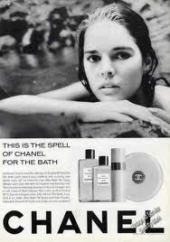 Allie MacGraw for Chanel