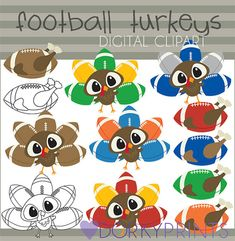 Hey, I found this really awesome Etsy listing at https://www.etsy.com/listing/201557096/football-turkeys-thanksgiving-clip-art