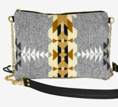 Run, jump, dance, twerk... whatever you're up to, this crossbody will be by your side, keeping you cool in the effortless way only Pendleton Wool can. www.mooreaseal.com