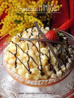Crostata Mimosa - la pasticceria di chico