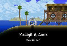 The creators behind Terraria got married. Congratulations Redigit & Cenx!