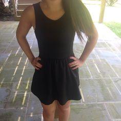 For Sale: Black Skater Dress  for $13