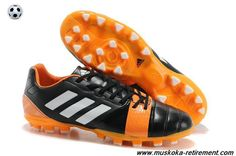 Adidas Nitrocharge 3.0 TRX AG (Black/White/Orange) Football Boots