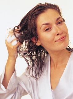 Help for Oily Second-Day Hair. Does your hair get oily & limp if you go a day without washing? You don't have to wash hair every day if you try this simple trick.
