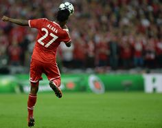 ~ Alaba of Bayern Munich in the Champions League Final ~