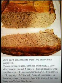 Zero Point Bananabanzo bread Made with garbanzo beans