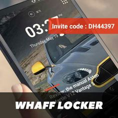 Install WHAFF LOCKER and invite this code DH44397. Thank you