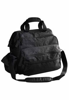 The Ultimate bag! Features a multitude of pockets and compartments designed specifically for the tools of your profession, including an inside file/document pocket. Water and stain-resistant fabric.