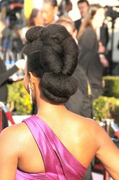 Teyonah Parris from the back!