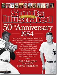 On the Cover: Willie Mays, Baseball, New York Giants  Photographed by: Bettman / Corbis