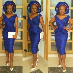 Check Out Our Latest Aso-Ebi Styles: Colorful