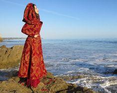Scanning the horizon for my true love's return. Mermaid Purse, Cloaks, Playing Dress Up, True Love, Lily, Feminine, Costumes, Blue, Fashion