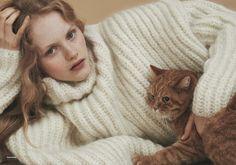 PUSS PUSS Magazine | Acne sweater (à la Drake #hotlinebling)