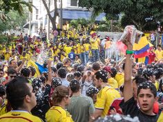 Watching the 2014 World Cup in Parque Lleras (Photos)  20140628-IMG_4641.jpg by rtwdave, via Flickr