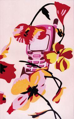 Nokia 7110 / Gianni Versace by George Kazazis Gianni Versace, Artist Art, Snoopy, Paintings, Artists, Disney Princess, Disney Characters, Gallery, Paint