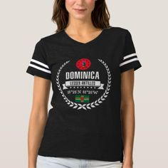 Dominica T-shirt -nature diy customize sprecial design