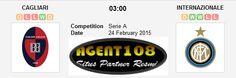 Prediksi Cagliari vs Inter Milan 24 Februari 2015 Liga Italia